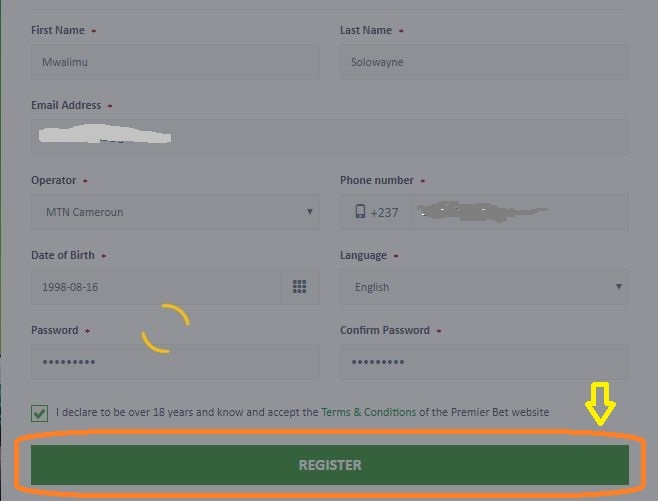 Premier Games Cameroon Online Betting Guide: How to play