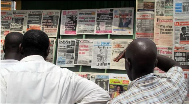 Cameroon News Paper Headlines for Today Monday, June, 25th, 2018 (A