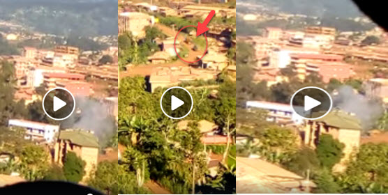 A video footage which shows Ambazonia fighters in Bui ...
